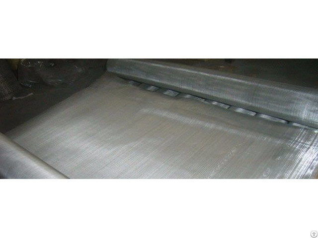 Stainless Steel Square Wire Mesh Twill Woven