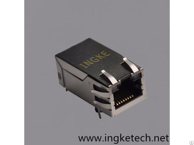 Si 50170 F Single Port Rj45 Magnetic Jack Connector