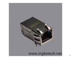 Si 50170 F Single Port Rj45 Magnetic Jack Connector