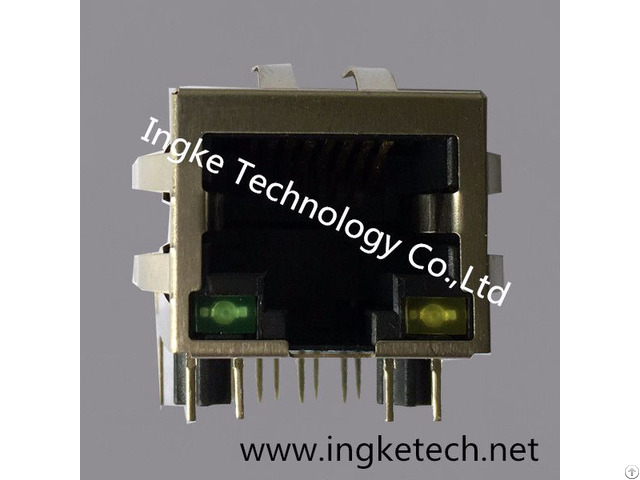 J0026d21bnl Ykjd 8059nl Single Port Rj45 Magnetic Jack Connector