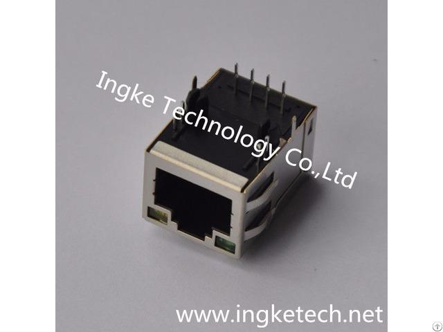Ykju 8019nl 100% Cross 6 6605786 1 Through Hole Rj45 Ethernet Connectors