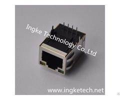 Ykju 8019nl 100% Cross 6 6605786 1 Through Hole Rj45 Ethernet Connectors
