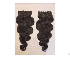Super Double Drawn Remy Weft Hair