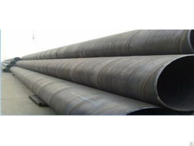 Welded Ssaw Steel Pipes Used In Oil Gas Water Industry With Competitive Price