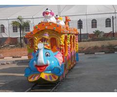 Cartoon Mini Track Train