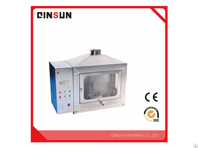 Flammability Tester For Construction Materials
