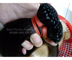 Stick Keratin I Tip Hair Extensions Factory Price