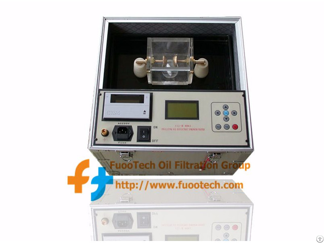 Series Fot Fully Automatic Transformer Oil Bdv (dielectric Strength) Tester For 0 ~ 100kv