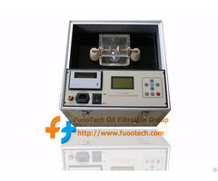 Series Fot Fully Automatic Transformer Oil Bdv (dielectric Strength) Tester For 0 ~ 100kv