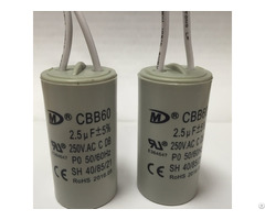 Cbb60 Motor Run Capacitor With Ce Ul