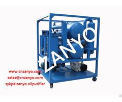 Zyd Ii Double Stage Vacuum Transformer Oil Purifier