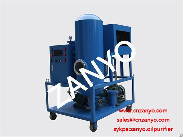 China Newly Tech Vacuum Lube Oil Purifier