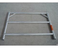 Yangzhou Synergy Aluminium Scaffoding 3 Rung Wide Frame