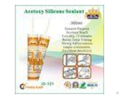Low Modulus Acetic Waterproof Silicone Sealant Ageing Resistant For Aluminum Sealing