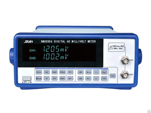 Sm2000a Serial Ac Millivolt Meter