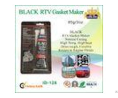 Black Rtv High Temp Gasket Maker Silicone Rubber Sealant For Vehicle Body