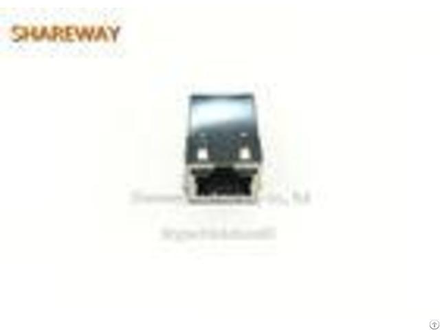 Famale Rj45 Modular Jack J1006f01pnl For Adsl Modems Lan On Motherboard