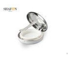 Silver Makeup Empty Air Cushion Abs Pp Material Logo Printing Simple Design