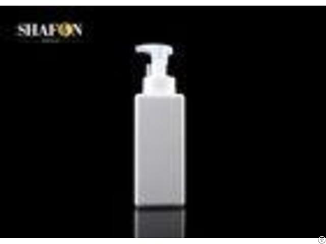 Petg Cuboid Empty Makeup Bottles Lotion Pump Sealing Customized Color