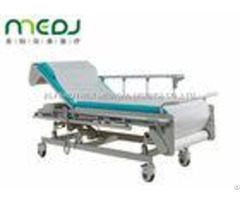 Multifunction Hospital Examination Bed 605 805mm Height With Protective Guardrail