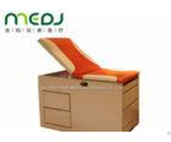 Orange Small Exam Table Mjsd03 08 Two Drawers For Children Treatment