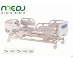 Electric Icu Hospital Bed Healthcare Mjsd04 04 Abs Guardrail With 5 Functions