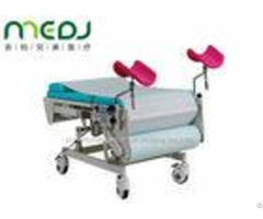 Multiuse Gynecological Examination Table Electric Two Sections With Stirrups
