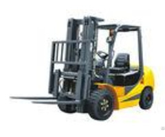 Pneumatic Tyres Four Wheel Forklift With Low Emission 6000mm Lifting Height