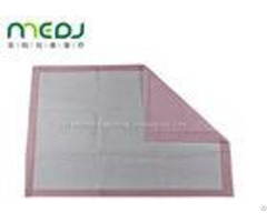 Super Absorbent Bed Pads Disposable Pink Medical Sheet For Adult Pets