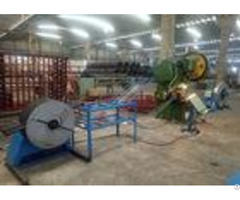 High Speed Razor Barbed Wire Machine 380v 3kw Power For Security Isolation