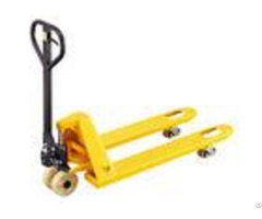 Customized Fork 2 Ton Hand Pallet Truck With Nylon Wheels Corrosion Resistant