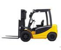Ac Dc Type Electric Forklift Truck 2000kg With Full Free Lifting 3280kg Service Weight