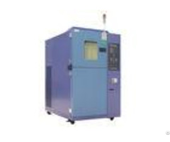 Two Zone Temperature Testing Equipment Environmental Interior Stainless Steel Plate