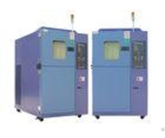 Two Zone High Low Temperature Shock Test Chamber Overheat Overload Protection