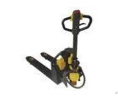 Portable Electric Pallet Truck 1200kg Compact Structure With Lithium Battery