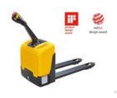 Full Sealed Battery Electric Pallet Truck Mini Type Anti Vibration 1800kg Capacity