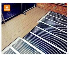 China Supplier Safety Low Voltage Radiant Floor Heat Ptc Heating Film