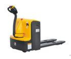 Durable Ac Control Walkie Pallet Jack Low Profile Chassis Electric Pump Truck