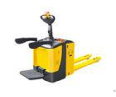 Super Light Steering Electric Pallet Truck Pu Tyres With Vertical Driving Motor