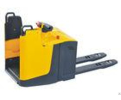 Standing Type Electric Pallet Truck Closed Arm With Fixed Platform Anti Vibration