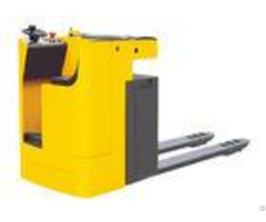 Seated Type Electric Pallet Truck 2 Ton Strong Power Good Looking With Eps System