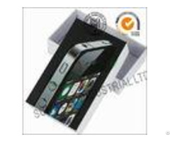 Cell Phone Electronic Product Packaging Boxes With Lids 3mm Thickness Art Paper