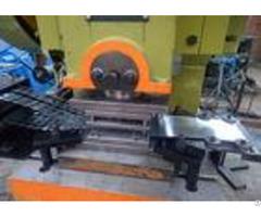 Hot Dipped Razor Barbed Wire Machine 450 950mm Coil Diameter Motor Drive