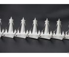 Anti Bird Fence Security Spikes Electric Galvanised Surface Treatment