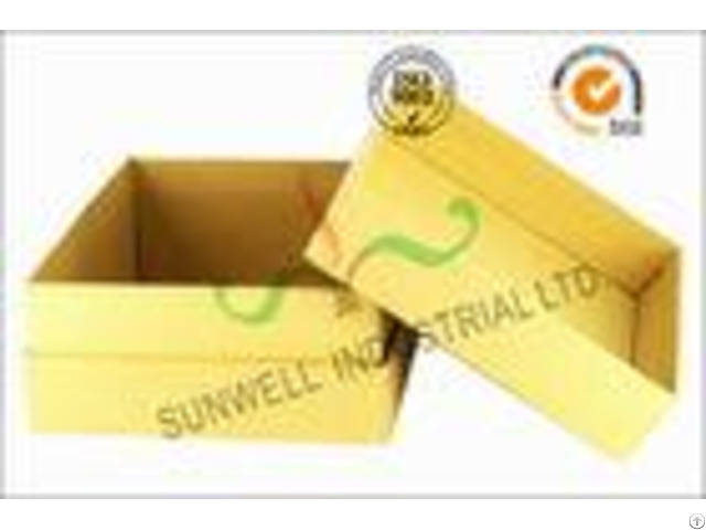Kraft Paper Custom Printed Corrugated Boxes For Beauty Product Packaging