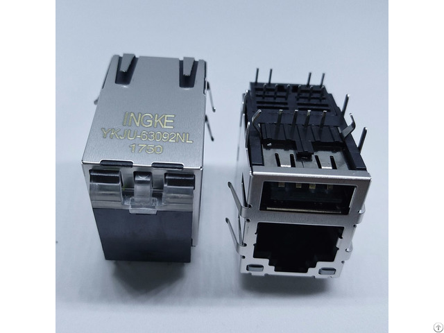 Arje 0032 Rj45 With Usb Magnetic Modular Jacks