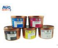Customized Color Uv Dry Offset Printing Inks Fine And Smooth Without Misting