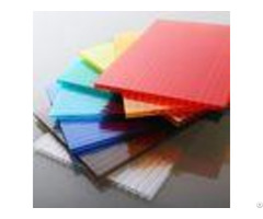Customized Length Flat Polycarbonate Roofing Sheets For Construction Decoration