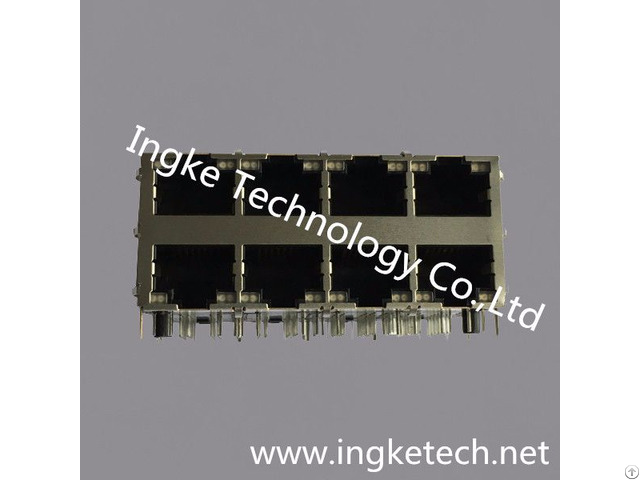 Ingke Ykg 832409nl 100% Cross Xmh 9760 Jl7d130 886 2x4 Ports Rj45 Jacks With Magnetics