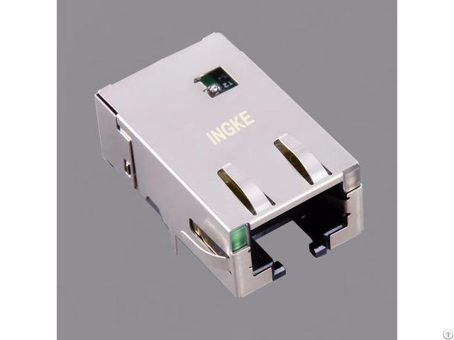 Ingke Yktd 8319nl 100% Cross Jt4 1108hl Single Ports 10g Base T Rj45 Modular Jack Connectors